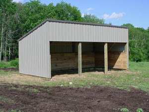 How to build a pole barn carport kits